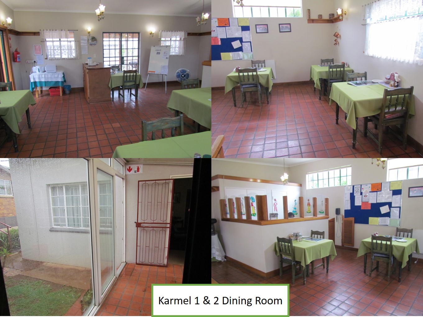 Karmel 1 and 2 Dining Room