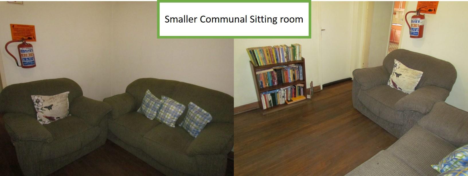 Smaller communal Sitting Room